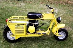 Old Yeller Scooter !