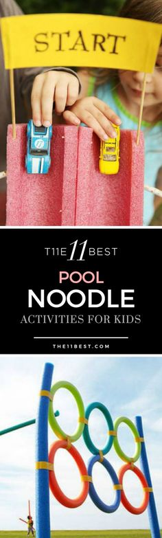 Pool Noodle Crafts
