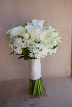 White calla Lilly and Phlox bouquet. Calla Lillies Bouquet, White Lilly, Temecula Wineries, Wedding Flowers, Floral Design, Glass, Photography, Photograph, Drinkware