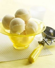 Sorbetto al limone, ricetta senza gelatiera | #vegan