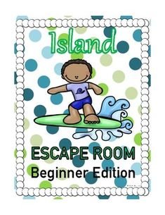 Island Escape Room Activity - Beginner Edition Escape Room Challenge, Elementary Schools, Elementary Teacher, Team Challenges, Back To School Activities, Teaching Materials, Problem Solving, Teacher Resources, Sd