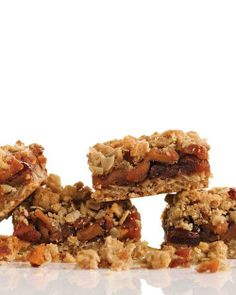 Apple-Cherry Crumble Bars Recipe