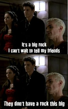 Truly, Joss Whedon humor is a thing to behold. #BtVS