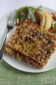 Gratin de ravioles aux poireaux et à la viande : Recette de Gratin de ravioles aux poireaux et à la viande - Marmiton
