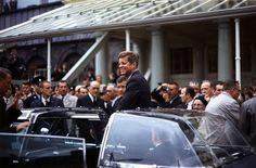 John F Kennedy JFK in Ireland Photo American Presidents Photos American Presidents, Us Presidents, Time Travel Pictures, Einstein, Nuclear Test, Unexplained Phenomena, John Fitzgerald, John Kennedy, Caroline Kennedy