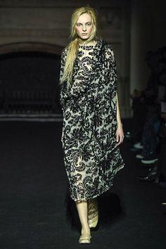 Simone Rocha at London Fashion Week, autumn/winter 2015-16.