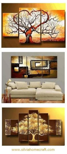 Extra large hand painted art paintings for home decoration. Large wall art, canvas painting for bedroom, dining room and living room, buy art online. Multiple Canvas Paintings, Canvas Paintings For Sale, Texture Painting On Canvas, Hand Painting Art, Large Painting, Online Painting, Abstract Paintings, 3 Piece Painting, Paintings Online
