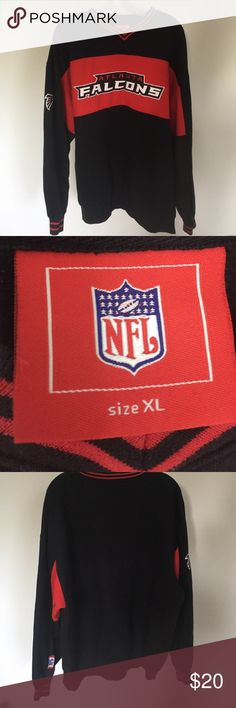 Mens falcons sweatshirt Great condition. NFL falcons sweatshirt nfl Shirts Sweatshirts & Hoodies