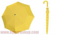 Detský dáždnik Doppler KIDS MAXI DOTS žltý s bodkami Dots, Fashion, Stitches, Moda, Fashion Styles, Fashion Illustrations