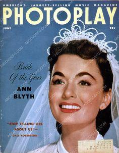Ann Blyth Photoplay magazine cover 35m-958