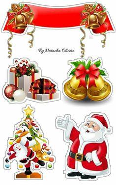 Christmas Graphics, Christmas Clipart, Christmas Stickers, Christmas Printables, Christmas Crafts For Kids, Christmas Time, Vintage Christmas, Christmas Decorations, Christmas Topper
