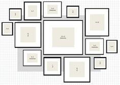 Moldes para paredes de fotos