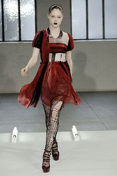 Rodarte Fall 2008 Ready-to-Wear Fashion Show - Coco Rocha