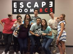This group escaped Dr. Andrew's lab in 53 minutes!