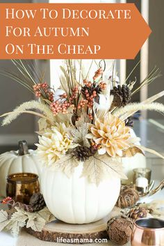 Decorating for the fall holiday season is, arguably, one of the most enjoyable parts of the year. Take advantage of these simple tips to learn how to keep your home looking fall-perfect on a small budget this autumn.