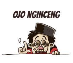 - Stiker LINE Emoji Defined, Javanese, Cartoon Jokes, Line Store, Chat App, Cute Stickers, Funny Memes, Humor, Fictional Characters