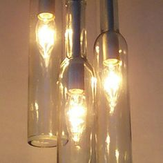 wine bottle pendant kit - Google Search