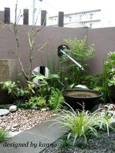 割烹料理店の和モダンエクステリア | 東京、神奈川、埼玉エクステリア外構や造園・ガーデニングのことならクローバーガーデン