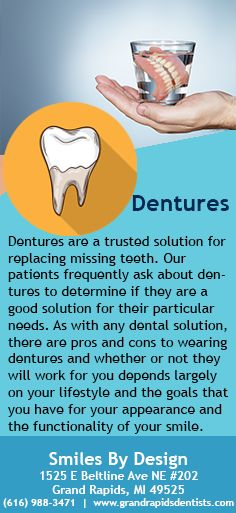 Dentures are a trusted solution for replacing missing teeth. Our patients frequently ask about dentures to determine if they are a good solution for their particular needs. #Dentures #missingTeeth #DentalRestoration #Dentist #HemetDentist #HemetCA