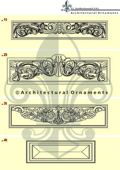 Drawings made by Architectural Ornaments Human Mind, Art And Technology, Historical Architecture, Vectors, Ornaments, Drawings, Design, Sketches, Draw