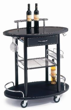 Kitchen Island Party Cart Kitchen Furniture on Wheels These Kitchen Islands Make Convenient Beverage Carts and Food Server Portable Tables for Entertaining Use Versatile Modern Push Carts for Added Storage Space or Take the Party Outside -- Find out more about the great product at the image link.Note:It is affiliate link to Amazon.