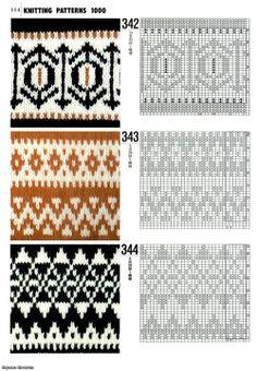 """""""Norske mønstre"""" Dat there Norske knitting ja jeg kan litt norsk Fair Isle Knitting Patterns, Fair Isle Pattern, Knitting Charts, Knitting Designs, Knitting Stitches, Knit Patterns, Stitch Patterns, Free Knitting, Sock Knitting"""