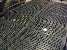 Farmtek flooring for the roofrack