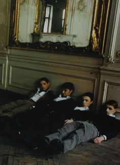 """""""The Magnificent Mirage,"""" photographed by Deborah Turbeville for L'Uomo Vogue July 2006"""