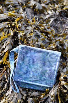 November Mermaid Pouch Waterproof Wristlet by saltydesignsalaska, $24.00