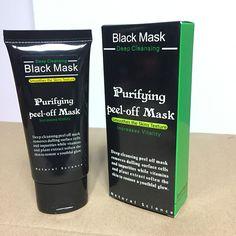 2pcs/lot Blackhead Remover Deep Facial Masks Deep Cleansing Purifying Peel Off Black Nud Facail Face Black Mask Nose Blackhead