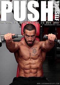 Fitness Motivation | PUSH YOURSELF - Lazar  Angelov