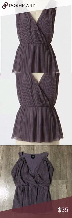 Anthropologie Deletta purple blouse size xs Good used condition Anthropologie Tops Blouses