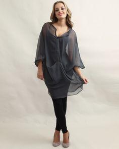 924abb3beb522c Miwa Centre Draped Dress Grey - £65.00 : Yuki Tokyo, Online Fashion Store