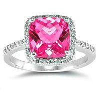 Pink Diamond ring <3