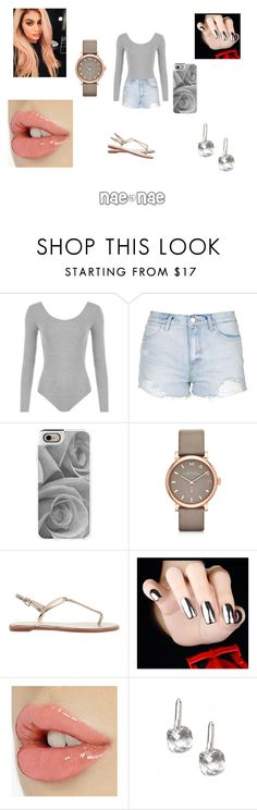 """""""Gray Set"""" by babygirlswagg23 ❤ liked on Polyvore featuring WearAll, Topshop, Justin Bieber, Casetify and Marc by Marc Jacobs"""