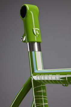 Speedvagen x ENVE signature carbon post head.