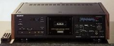 SONY TC-K555ESG three head tape deck.