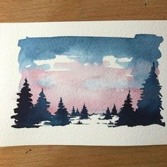 "4,331 Likes, 54 Comments - Sarah Hernandez (@lostswissmiss) on Instagram: ""I am thinking of doing a giveaway for this watercolour what do you think? Yes / No? Please let me…"""