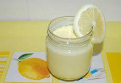 yaourt citron maison Flan Dessert, Healthy Breakfast Recipes, Tupperware, Glass Of Milk, Yogurt, Clean Eating, Brunch, Sweets, Cooking