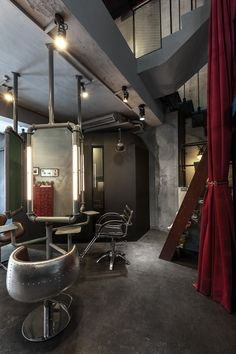HOUSE DESIGN | QPAD HAIR SALON on Behance