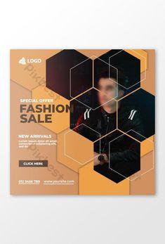 Fashion Social Media instagram Post#pikbest# Web Banner Design, Powerpoint Word, Social Media Design, Instagram Posts, Free, Fashion, Moda, Fashion Styles, Fashion Illustrations