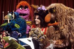 Alice Cooper & The Muppets