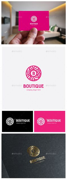 Boutique Logo Template #design #logotype Download: http://graphicriver.net/item/boutique/12894604?ref=ksioks