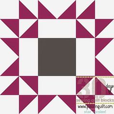 How to: Arizona Star Quilt Block - 30 Days of Sewing Quilt Blocks- Star Version!