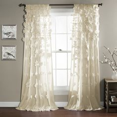 Lush Decor Riley Curtain Panel & Reviews | Wayfair