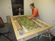 Home built gaming table   BoardGameGeek   BoardGameGeek