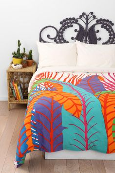 Magical Thinking Palm Leaf Duvet Cover.. Yes, i'll have this one Thank-Youp!