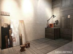 Tile- Sangah's - KALE Collection 60x60 #tile #tiles #sangahtile #interior #design #interiordesign #modern #natural #room #상아타일 #모던 #내추럴 #전시장