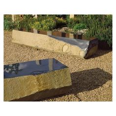 Monolithic Basalt Bench from Stone Forest
