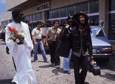 The original! Llegada de Bob Marley a Ibiza para actuar el 28 de junio de 1978.
